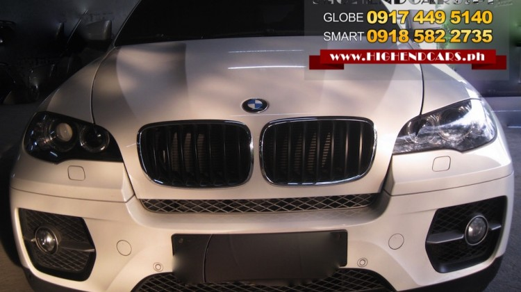 2011 BMW X6 DIESEL LOCAL
