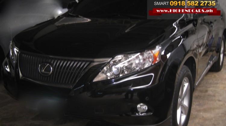 2010 LEXUS RX350 LOCAL