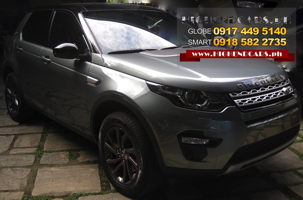 2016 LAND ROVER NEW DISCOVERY SPORT HSE LUXURY DIESEL