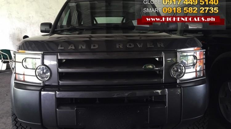 2005 LAND ROVER LR3 DISCOVERY SE TDV6 DIESEL
