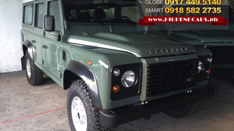 2016 LAND ROVER DEFENDER 110 SUV DIESEL