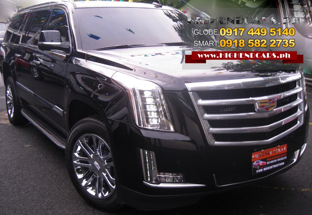 2016 CADILLAC ESCALADE BULLETPROOF ARMORED INKAS IMPORTED