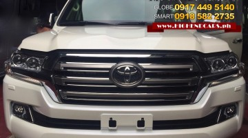 2016 TOYOTA LAND CRUISER BULLETPROOF INKAS IMPORTED ARMOR 4 CAMERAS