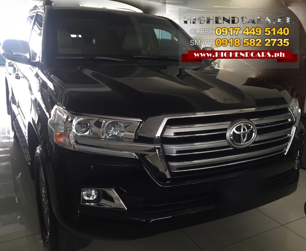 2016 TOYOTA LAND CRUISER BULLETPROOF INKAS IMPORTED ARMOR