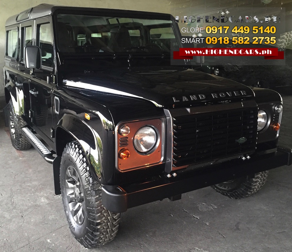 2016 LAND ROVER DEFENDER 110 65th ANNIVERSARY LXV