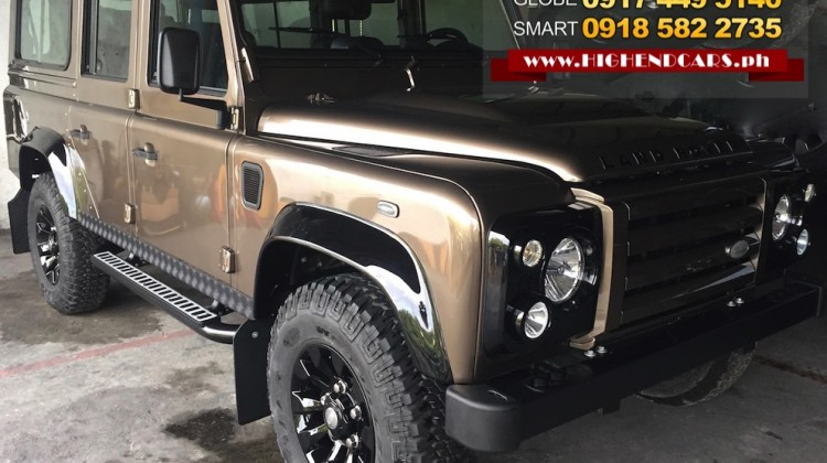 2016 LAND ROVER DEFENDER 110 ROUGH II LIMITED EDITION