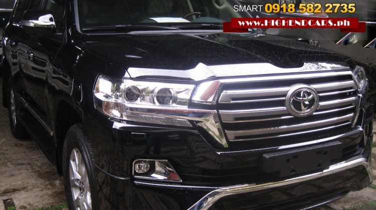2017 TOYOTA LAND CRUISER SPORT BULLETPROOF IMPORTED ARMOR