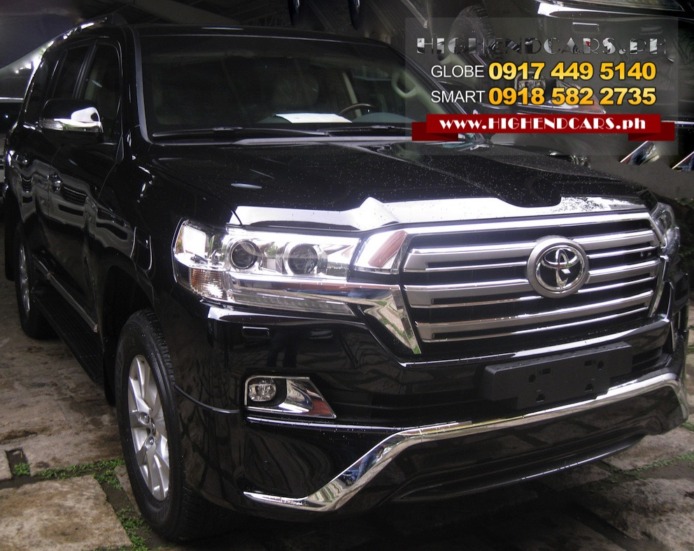 2016 TOYOTA LAND CRUISER SPORT BULLETPROOF IMPORTED ARMOR