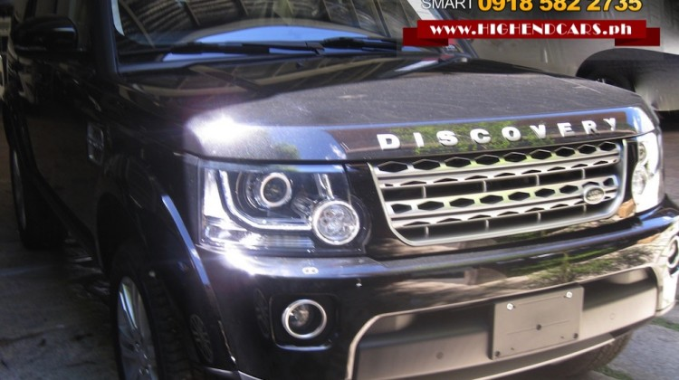 2016 LAND ROVER LR4 HSE DIESEL FACELIFTED
