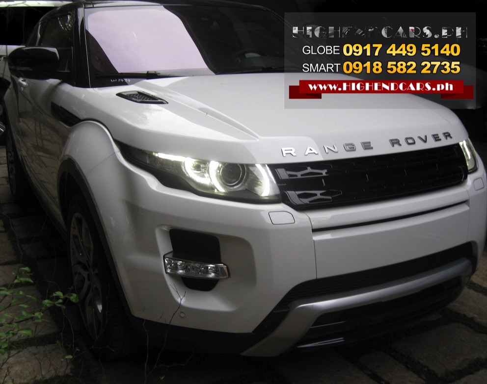 2016 RANGE ROVER EVOQUE COUPE FULL OPTIONS
