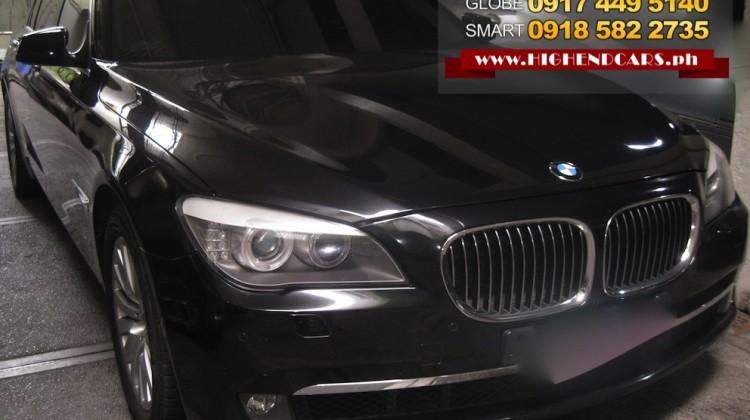 2010 BMW 740LI FULL OPTIONS LOCAL