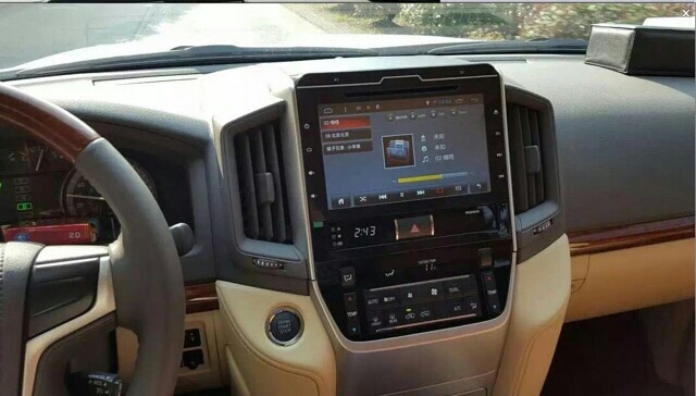 GPS CARD NAVIGATION FOR TOYOTA LAND CRUISER AND PRADO