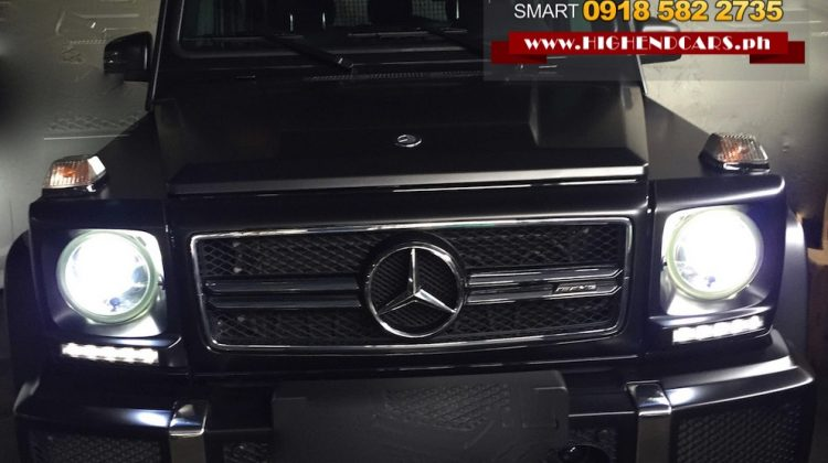 2015 MERCEDES BENZ G63 AMG LOCAL CATS