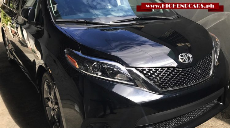 2016 TOYOTA SIENNA SE PREMIUM FACELIFTED NEW LOOK