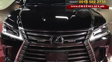 2018 LEXUS 570 NEW LOOK BULLETPROOF INKAS IMPORTED