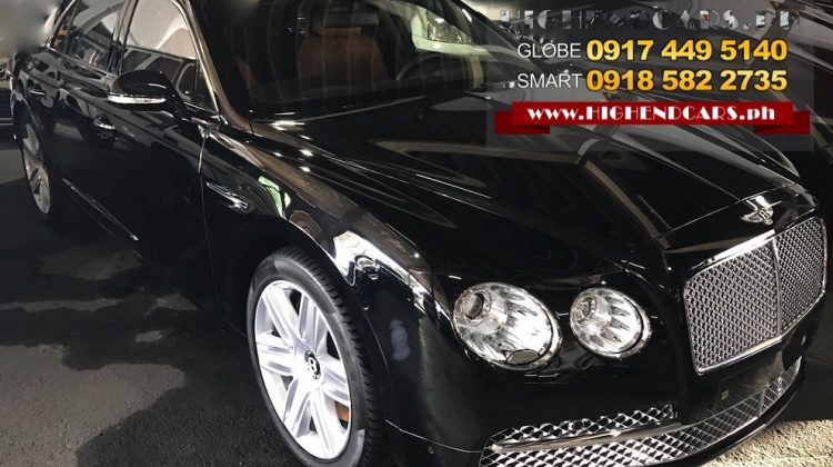 2016 BENTLEY FLYING SPUR LOCAL PGA
