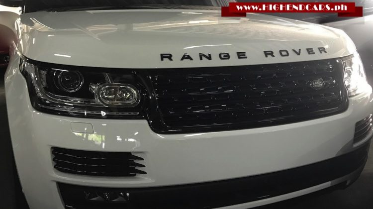 2017 RANGE ROVER AUTOBIOGRAPHY FULL OPTIONS
