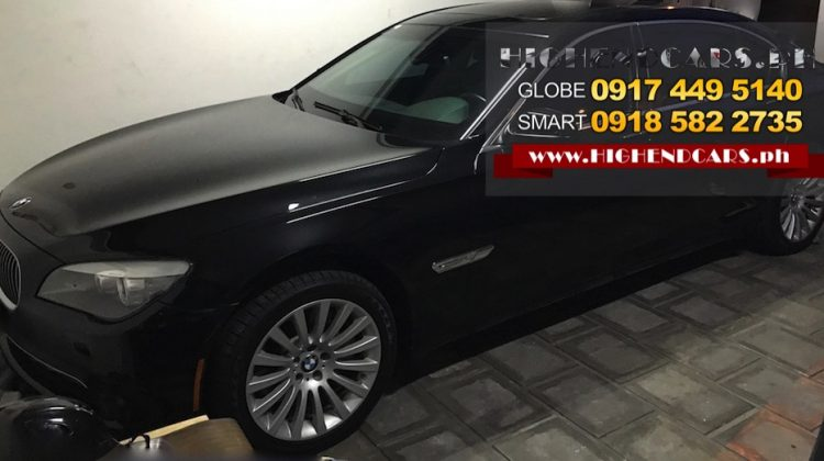 2013 BMW 750IL BULLETPROOF IMPORTED ARMOR