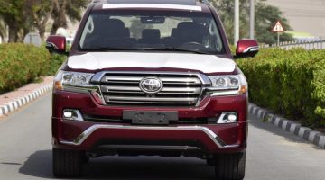 2018 TOYOTA LAND CRUISER VX PLATINUM FULL OPTIONS