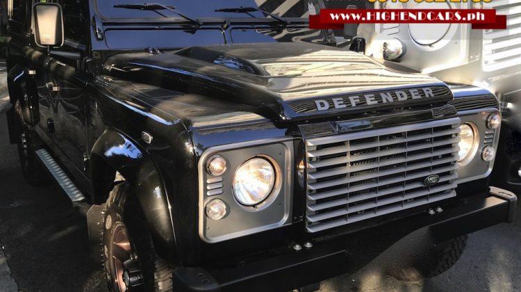 2015 LAND ROVER DEFENDER 110 DIESEL LOW MILEAGE