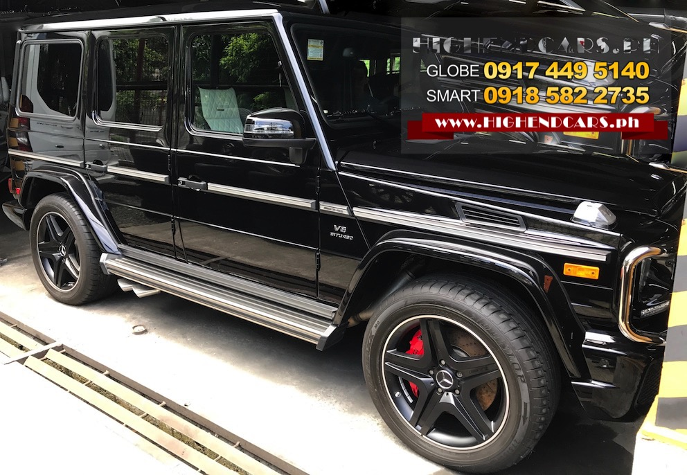 2016 MERCEDES BENZ G63 AMG LOCAL DESIGN LIMITED EDITION