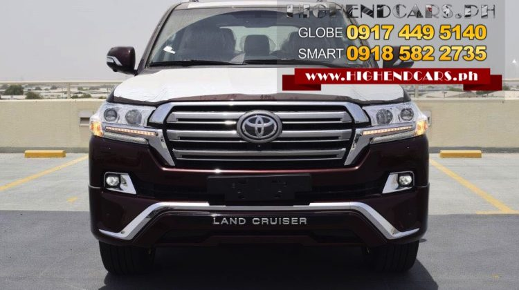 2018 TOYOTA LAND CRUISER VX PLATINUM FULL OPTIONS BROWN
