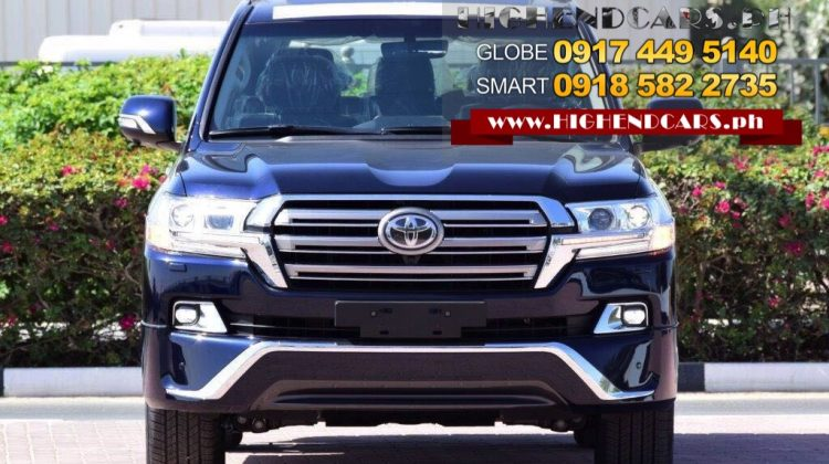 2018 TOYOTA LAND CRUISER VX PLATINUM BLUE