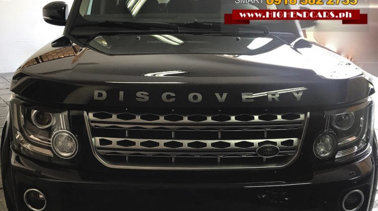 2017 LAND ROVER LR4 SUPERCHARGED HSE