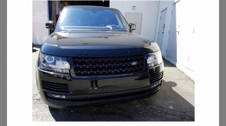 2017 RANGE ROVER SUPERCHARGED BLACK PACK EDITION