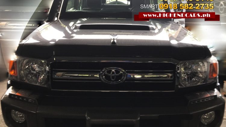 2018 TOYOTA LAND CRUISER LX10 LC 70 SERIES of PICK UP V8 DIESEL