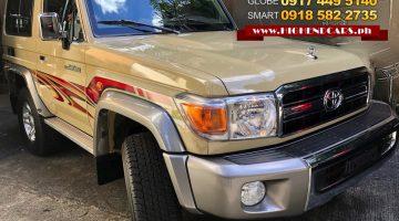2017 TOYOTA LC 70 3DOOR V6 GAS