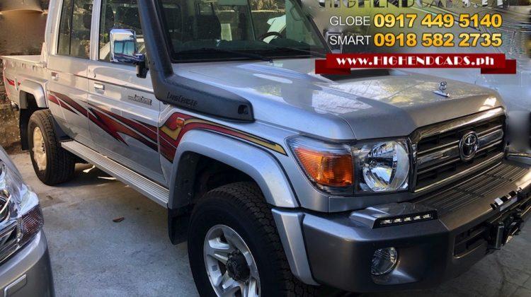 2018 TOYOTA LAND CRUISER LX10 LC 70 SERIES PICK UP V8 DIESEL