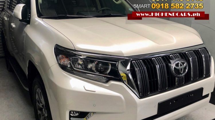 2018 TOYOTA LAND CRUISER PRADO LOCAL GAS