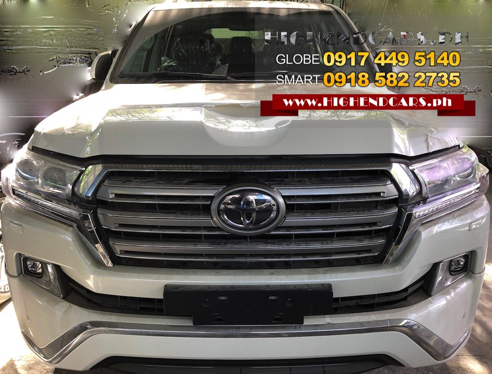 2018 TOYOTA LAND CRUISER VX PLATINUM BLACK SILVER WHITE AVAILABLE