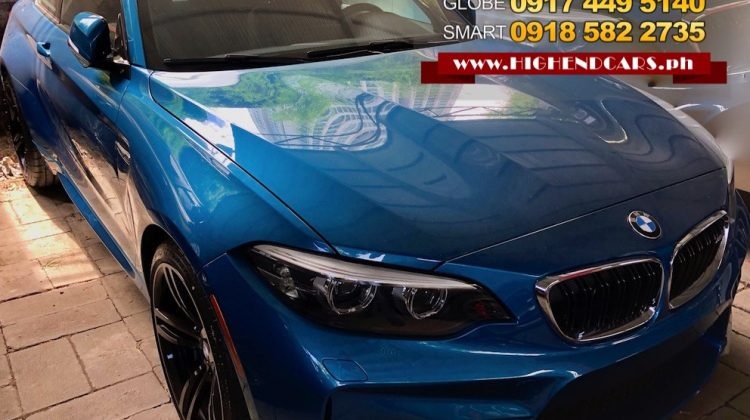 2018 BMW M2 FULL OPTIONS