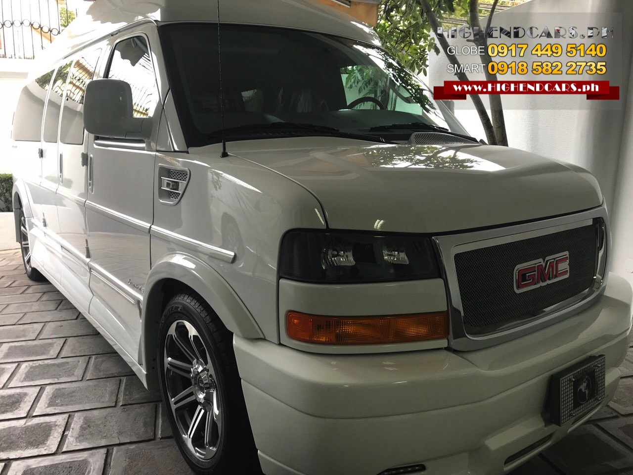2018 GMC SAVANA EXTENDED EXPLORER LIMITED WHITE