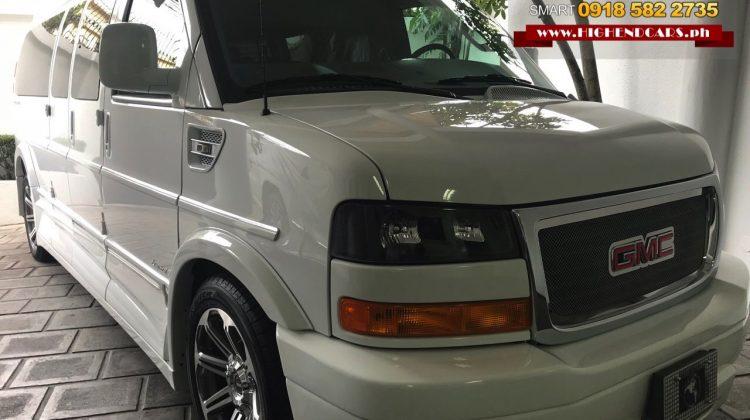 2018 GMC SAVANA EXTENDED EXPLORER LIMITED WHITE