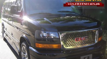 2018 GMC SAVANA EXTENDED EXPLORER LIMITED BLACK