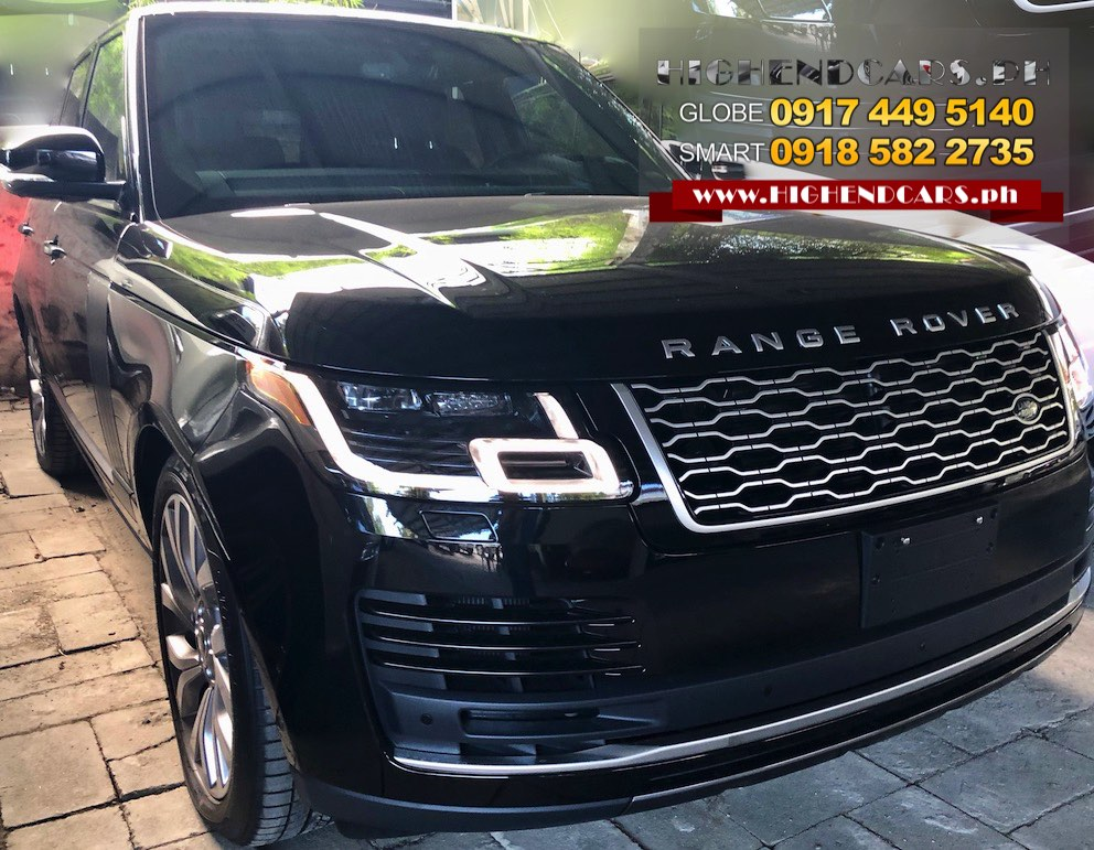 2018 RANGE ROVER SUPERCHARGED NEW LOOK