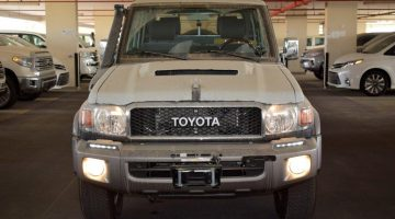 2018 TOYOTA LAND CRUISER LX10 LC 70 SERIES PICK UP V8 DIESEL