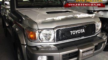 2018 TOYOTA LAND CRUISER LC 70 LX 10 V8 DIESEL