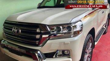 2018 TOYOTA LAND CRUISER DUBAI VERSION