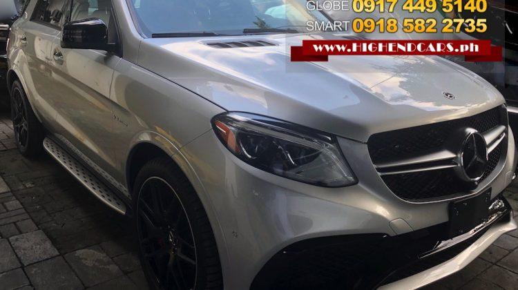 2018 MERCEDES BENZ GLE63S AMG