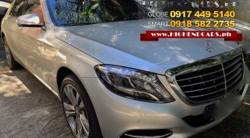 2014 MERCEDES BENZ S500 LOCAL