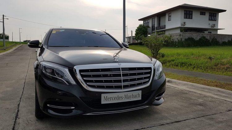 2017 MERCEDES BENZ S500 MAYBACH LOCAL