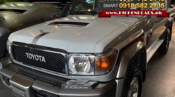 2019 TOYOTA LAND CRUISER LX10 LC 70 SERIES PICK UP V8 DIESEL