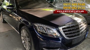 2015 MERCEDES BENZ S500 MAYBACH LOCAL