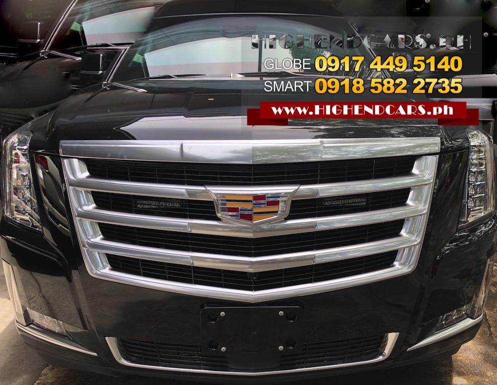 INDENT ORDER 2019 CADILLAC ESCALADE VIP LIMO CUSTOMIZED BULLETPROOF INKAS ARMOR