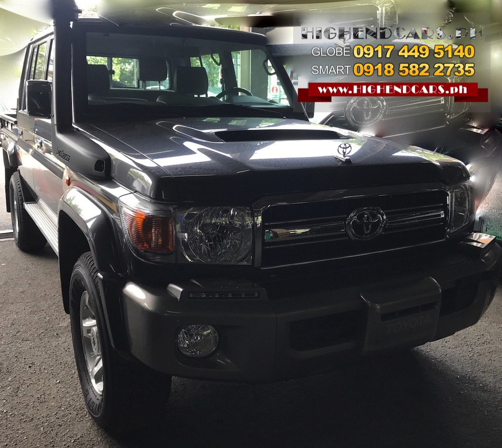 2018 TOYOTA LAND CRUISER LX10 LC 70 SERIES Of PICK UP V8